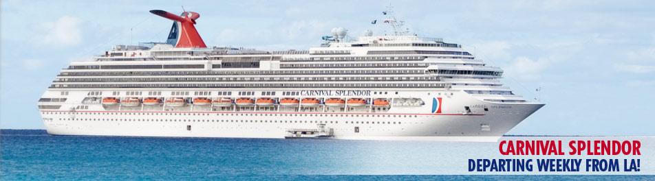 Cruise Ship Information - Pictures of carnival splendor cruise ship
